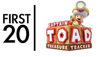 Captain Toad Treasure Tracker - First20 (w Mal)