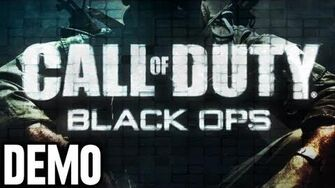Call of Duty Black Ops - Demo Fridays