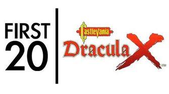 Castlevania Dracula X - First20