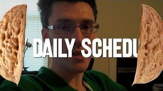 My Daily Schedule in a Nutshell (Day 673 - 9 28 11)