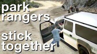 Park Rangers Stick Together