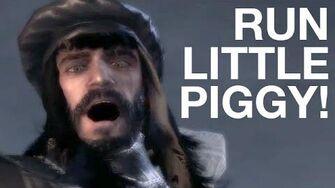 Run Little Piggy!
