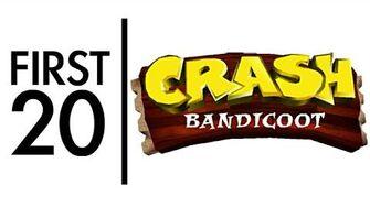 Crash Bandicoot - First20
