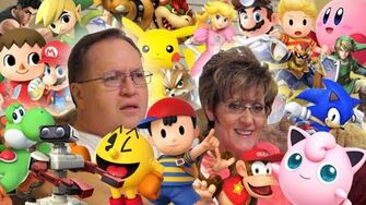 My Parents Identify Smash Bros Characters (Day 1984 - 5 1 15)