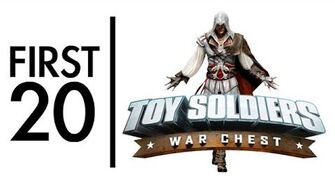 Toy Soldiers War Chest - First20