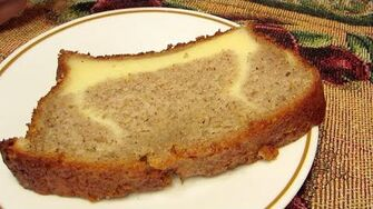 Banana Bread Cheesecake (Day 1755 - 9 14 14)