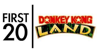 Donkey Kong Land - First20