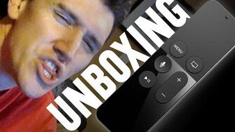 Apple TV Unboxing (Day 2176 - 11 9 15)