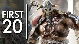 For Honor - First20
