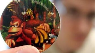 Donkey Kong Country Pogs (Day 569 - 6 16 11)