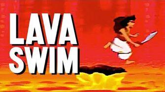 Lava Swim