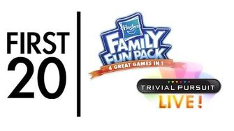 Trivial Pursuit (Hasbro Family Fun Pack) - First20 (w Mal)