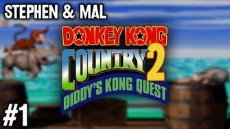 Stephen & Mal Donkey Kong Country 2 1
