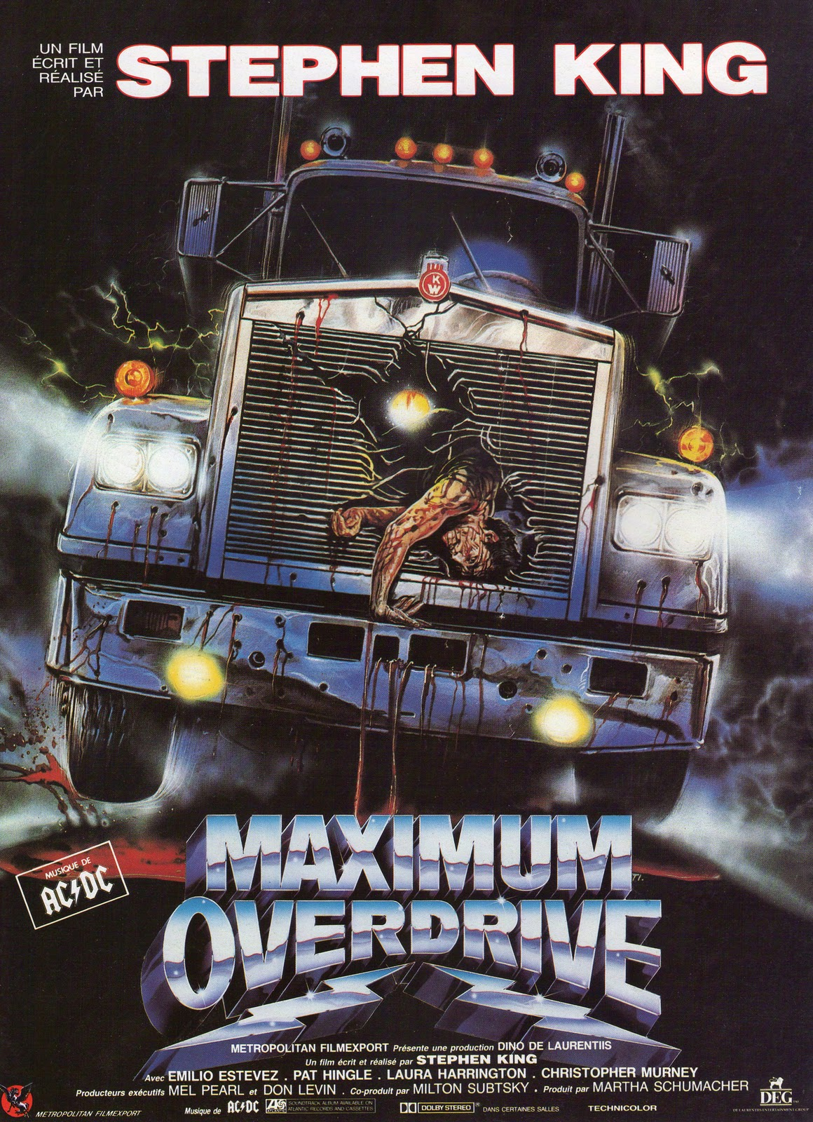 Maximum Overdrive : Stephen King Wiki : FANDOM powered by ...