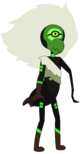 Centipeetle (Half-Corrupt) by 뱀파이어 쿠키 (New) (Resized) (Corrupted on left arm)
