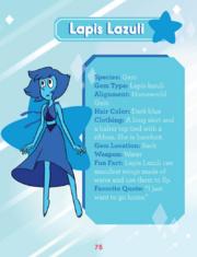 Lapis Lazuli GTTCG Page