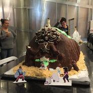 Bismuth Celebration Cake 1
