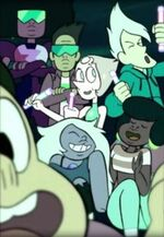 Steven universe buck dewey and garnet joy ride selfie