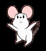Onion Friend Onion's White Mouse