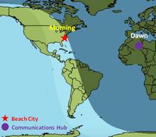 The Gem Builds Map Communications Hub