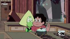Steven Teaches Peridot About Rain