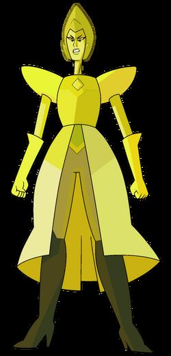 Yellow Diamond by Lenhi