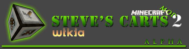 File:Steve's Carts Wikia Logo2.png