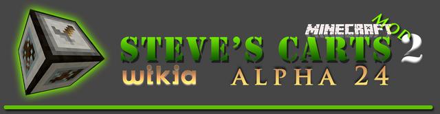 File:Steve's Carts Wikia LogoA24.png
