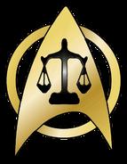 USS Justice insignia