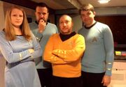 Lt brooks,dr miles,dr robinson,Captain Allen