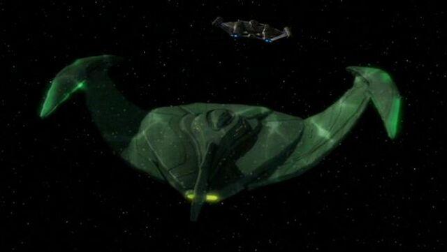 File:Romulan bird-of-prey, ENT-aft, cloaking.jpg