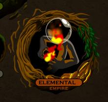 Elemental empire icon selection