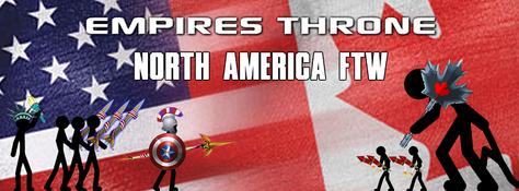 Empires throne banner