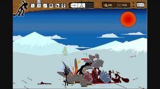 "Stick War - Insane Mode - Level 11 ""Ice Hills"""