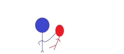 Blue vs Red