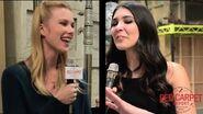 Our interview w Emma Ishta from ABC Family's New Drama Series Stitchers Stitchers