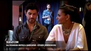 Salli Richardson Whitfield & Damon Dayoub Stitchers WonderCon 2016 Interview