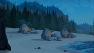S1 E15 Lance, Ripper and Ty relax in Chillaxland at night