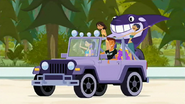 S2 E1 Lo offers Reef all access to the jeep