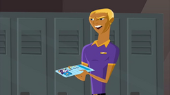 """S1 E11 Bummer says """"Reef - four. Says here, needs to spend less time teaching girls mouth-to-mouth"""""""