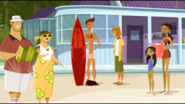 S1 E9 Guests at the resort see the pantsless Reef