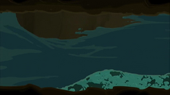 S1 E11 Reef and Johnny run from the water
