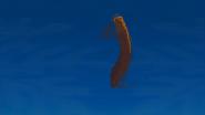 S1 E16 Fluffy flies through the air