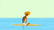 S2 E7 Broseph waits for a wave so he can attempt the Reaper