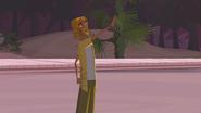 """S1 E8 The Kahuna at the same time tells Broseph """"Yeah! Shoot the curl, dude! Cowabunga!"""""""