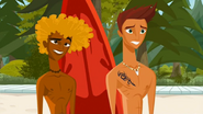 S1 E6 Broseph and Reef look confused at The Kahuna