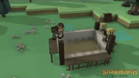 Stonehearth Developer Snapshot, Coordinated Building AI!