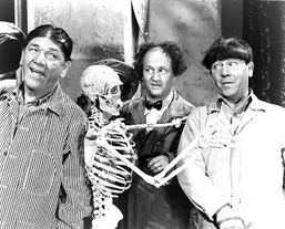 Red Skeleton & The Three Stooges