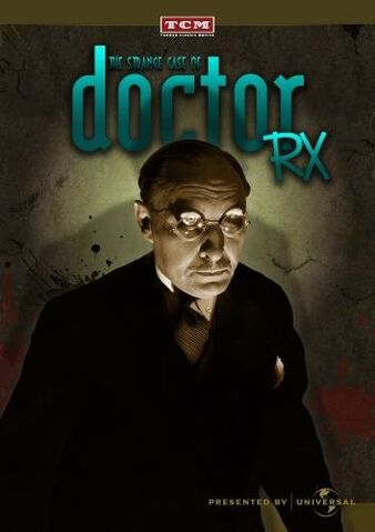 File:The Strange Case Of Dr.Rx DVD Cover.jpg
