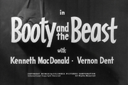 Booty and the Beast Title Card